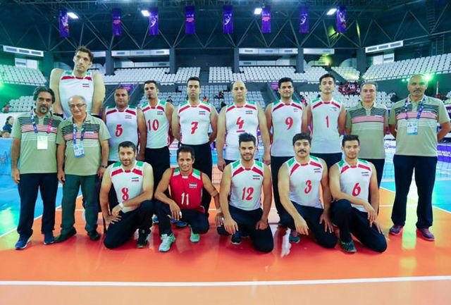 تیم ملی مردان والیبال نشسته ایران قهرمان آسیا شد