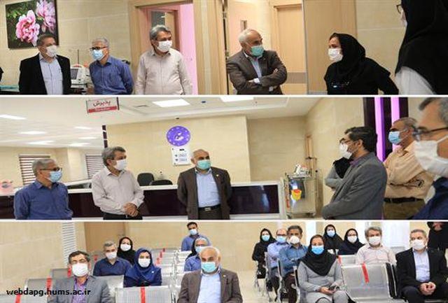 افتتاح بیمارستان زنان و زایمان شریعتی بندرعباس در آینده ای نزدیک