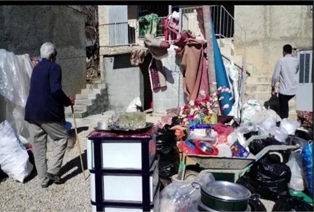 پیگیری مشکلات و خسارات ناشی از وقوع زلزله در حوزه فرهنگ و هنر شهر سی سخت