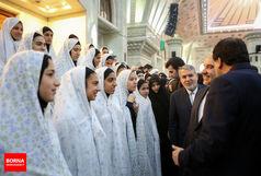 دیدار ملیپوشان فوتسال بانوان با وزیر ورزش و جوانان