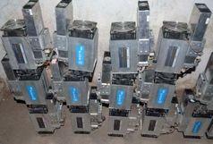 کشف ۱۵ دستگاه ماینر قاچاق
