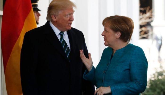 گفتگوی ترامپ و مرکل در مورد غرب آسیا