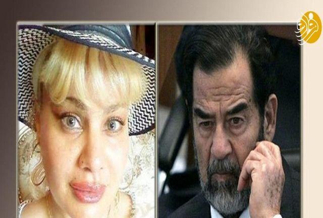 پیدا شدن یک دختر جدید برای صدام حسین